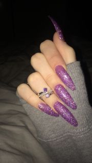 long acrylic nails ideas