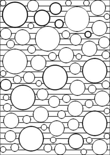 geometric coloring pages geometri geometriska former