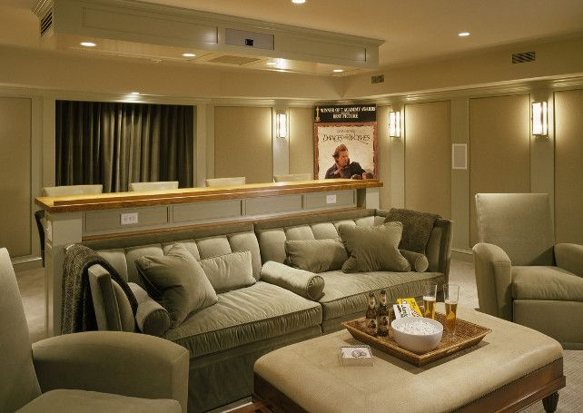 17 Best ideas about Media Room Design on Pinterest