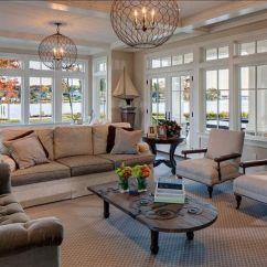 High Ceiling Living Room Decor Ideas Royal Blue And Grey Coastl Room. Design. Light Fixtures Are ...