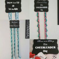 17 Best ideas about Cheer Bow Holders on Pinterest ...