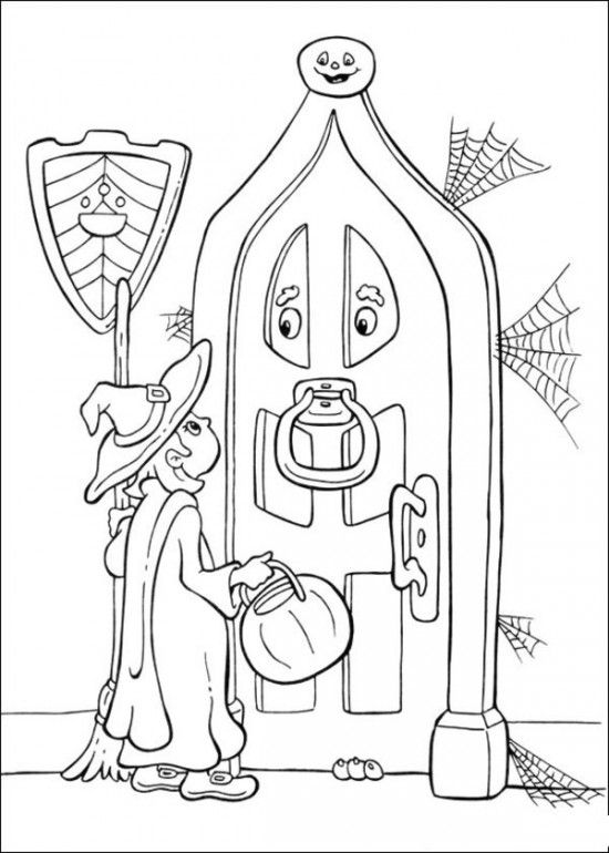 330 best images about Halloween coloring pages on
