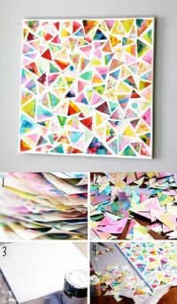 25+ best Colorful Wall Art ideas on Pinterest
