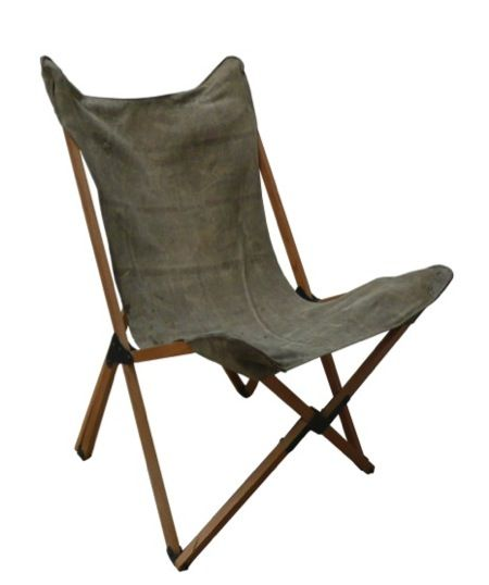 Canvas Sling Chair Plans  WoodWorking Projects  Plans