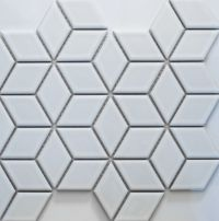Academy Tiles - Ceramic Mosaic - Diamond Mosaic - 83408 ...