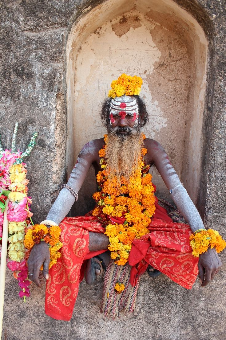 India  People Orchha Holy Man In Hinduism a sdhu which is Sanskrit for holy man is a