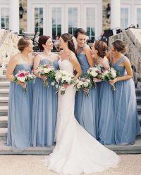 Best 25+ Dusty blue bridesmaid dresses ideas on Pinterest