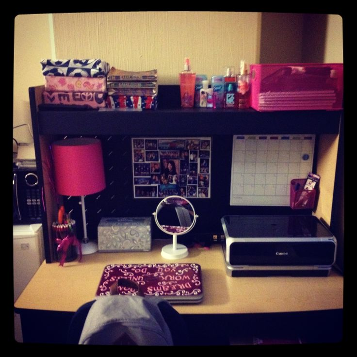 College dorm desk  looks almost exactly like my desk in