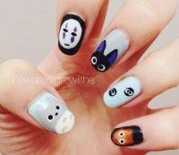 Studio Ghibli Nail Art @Luuux | Nails | Pinterest | Studio ...