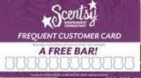 frequent customer card | scentsy | Pinterest | Cards