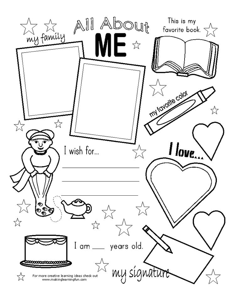 17 Best ideas about All About Me Poster on Pinterest