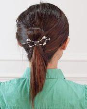 1000 ideas fancy ponytail