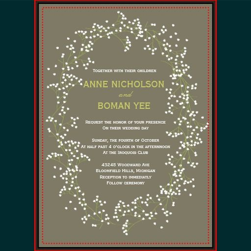 46 Best Images About Anne Invitations On Pinterest