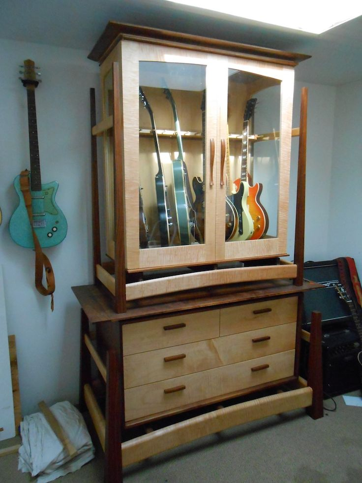 17 Best images about Guitar Storage Cabinets on Pinterest