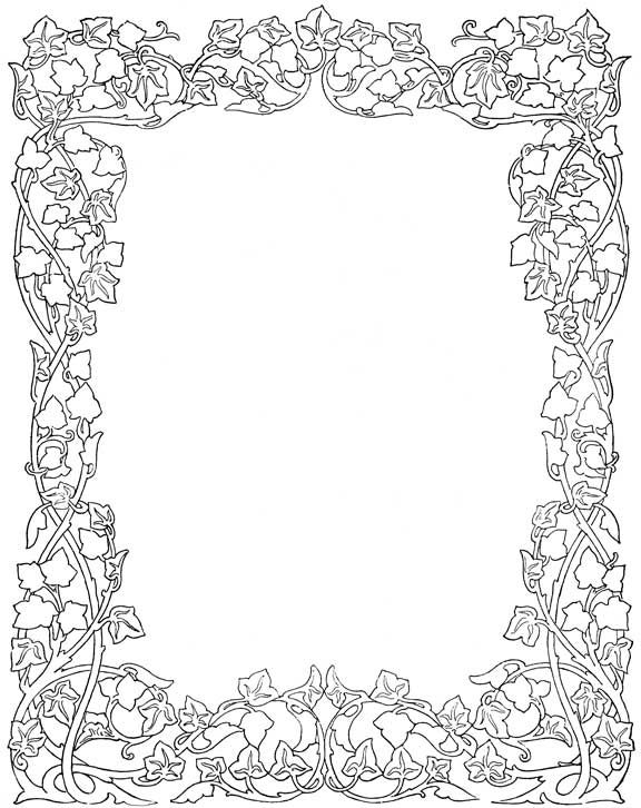 135 best images about Bos coloring blank frames on