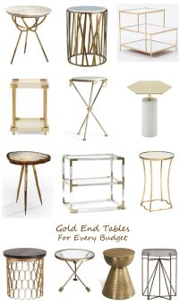 17 Best ideas about Gold End Table on Pinterest | Gold ...