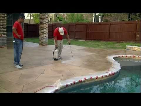 1000+ Images About Painted Concrete On Pinterest