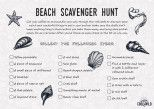 25+ best ideas about Beach scavenger hunts on Pinterest