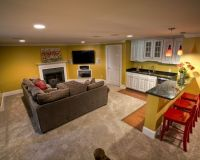 Small Basement Apartment Decorating Ideas | Modern ...