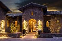 Tuscan Outdoor Front Porch Entry Home Design Ideas | My ...