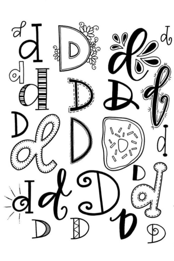 17 Best ideas about Chalkboard Lettering Alphabet on
