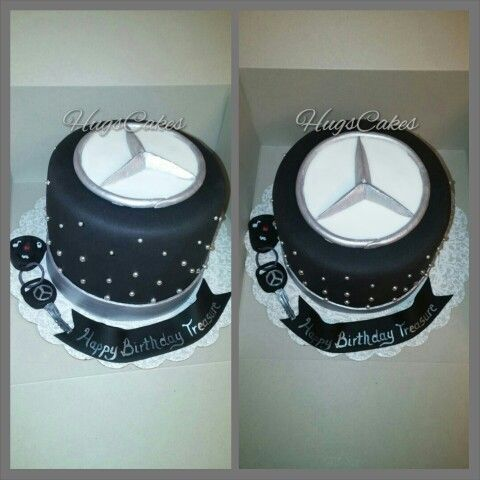 Mercedes Logo Cake Cakes Pinterest Logos And Cakes