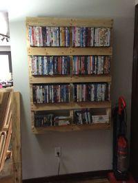 25+ best ideas about Movie Shelf on Pinterest | Diy dvd ...