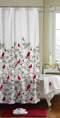 25 Best Ideas About Christmas Shower Curtains On Pinterest