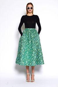 25+ best ideas about Tea length skirt on Pinterest