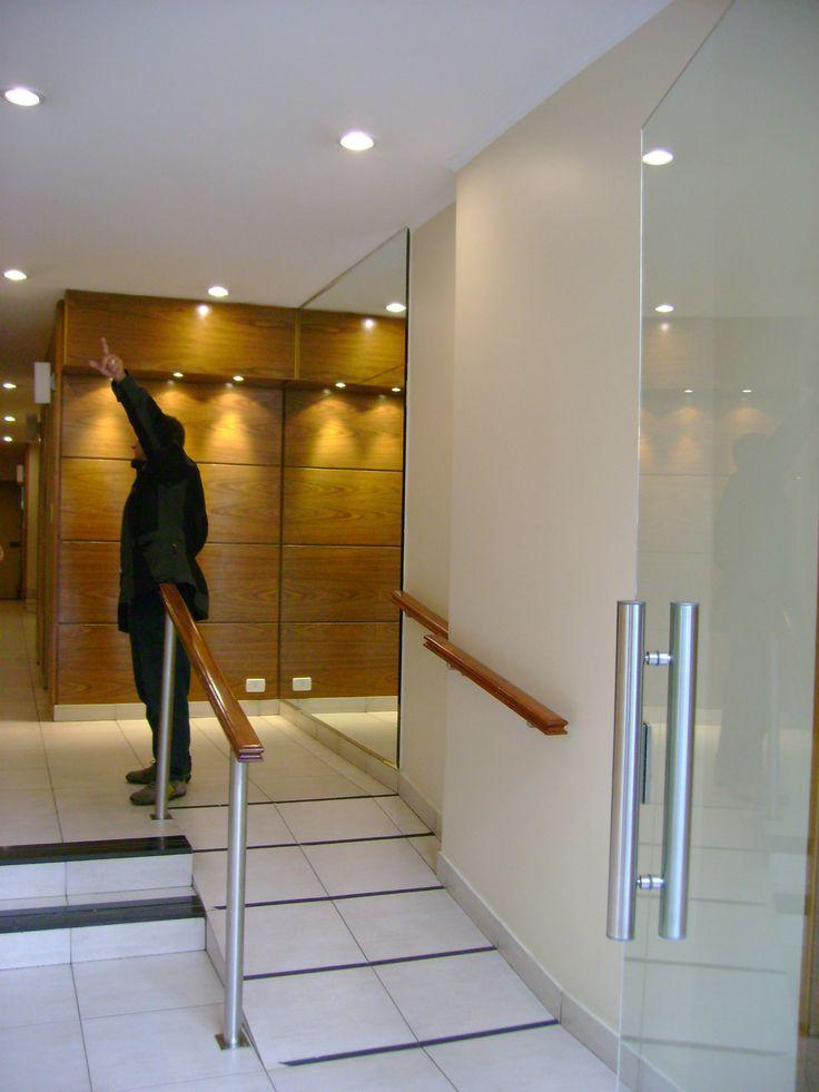 Diseo Hall de entrada Edificio Residencial Buenos Aires