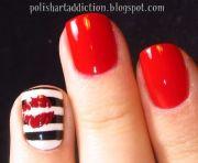 lip nail design