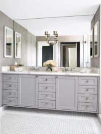 1000+ ideas about Gray Bathroom Vanities on Pinterest
