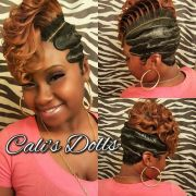 #fingerwaves #quickweave #scstylist