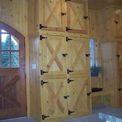 Modern Kitchen Hardware Remodel Small Tack Room Lockers/cabinets | Barn Pinterest Barns ...