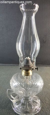 1000+ images about Antique Glass Oil Lamps on Pinterest