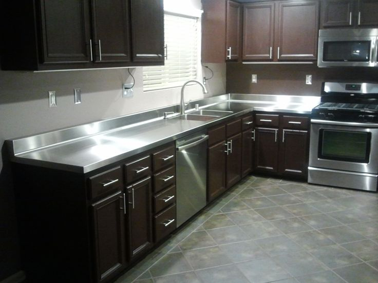 1000+ images about Stainless Countertops on Pinterest
