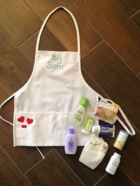 big sister apron/basket | children | Pinterest | Sisters ...