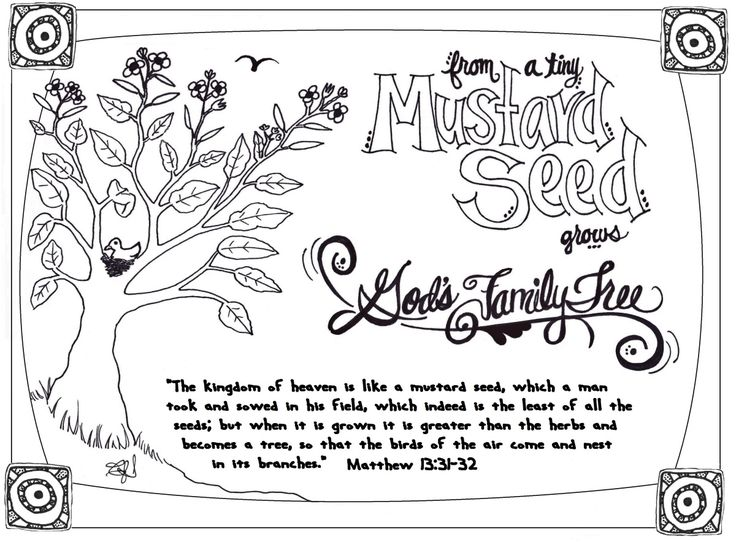 17 Best ideas about Mustard Seed Parable on Pinterest