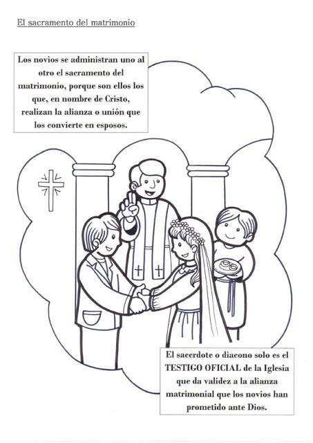 El Rincón de las Melli: SACRAMENTO: Matrimonio
