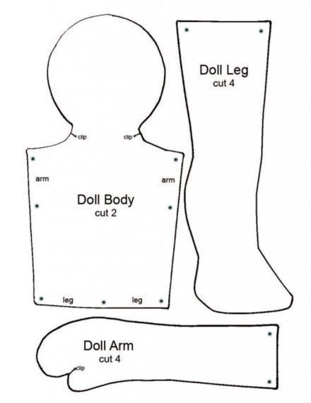 doll pattern http://www.polyclay.com/wp-content/uploads