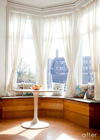 Best 25+ Bay window curtains ideas on Pinterest