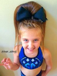 1000+ ideas about Cheerleader Hair on Pinterest | Cheer ...