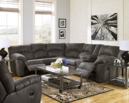 microfiber sofa and loveseat recliner fundas para sofas en chile the one i want!!!!! ashley tambo pewter gray contemporary ...