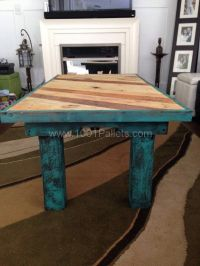 17 Best ideas about Teal Coffee Tables on Pinterest | Mid ...