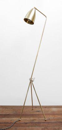 Mid Century Modern Solid Brass Grasshopper Floor Lamp ...