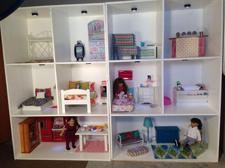 DIY American Girl Doll House  Wisconsin Parent  AG 18