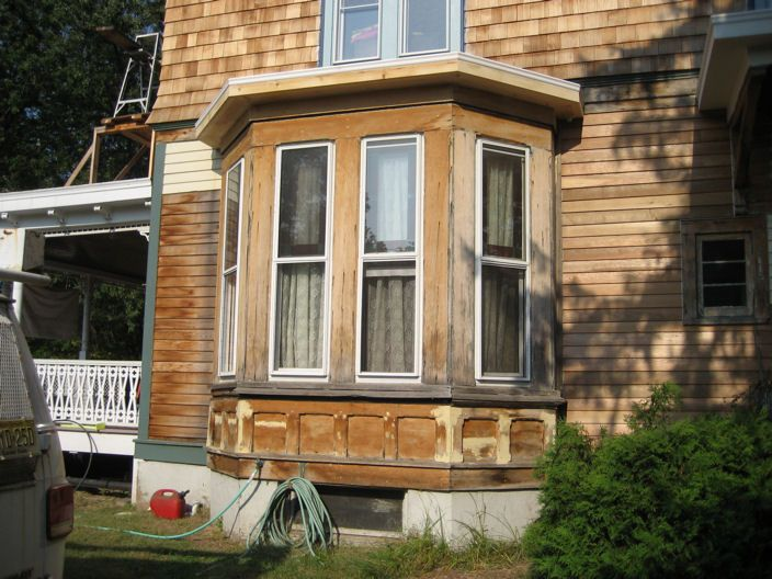 17 Best ideas about Bay Window Exterior on Pinterest