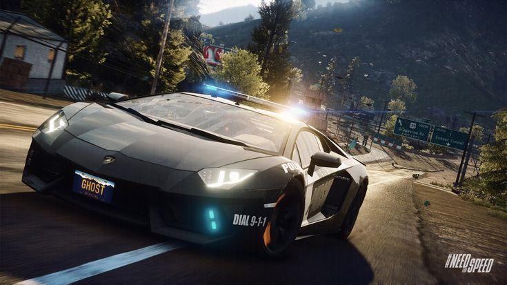 NFS Rivals Lamborghini Aventador LP 700 4 As A Cop Need