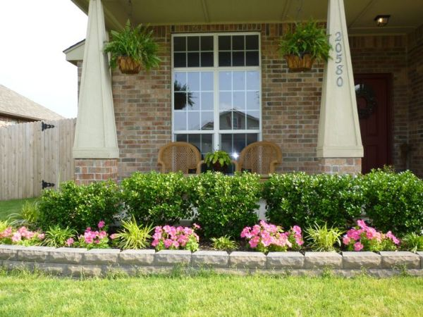 front porch landscape ideas home