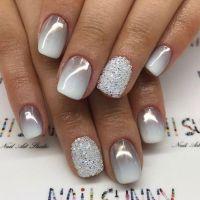 Best 20+ Grey nail designs ideas on Pinterest | Gel nail ...